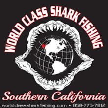 world class shark fishing logo
